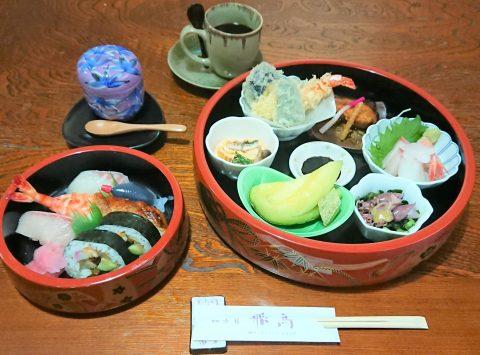 上桶会席 3,300円 お寿司もついてお得!