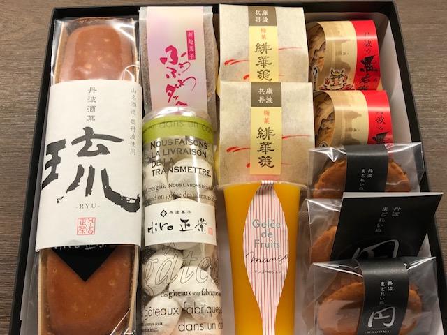 和菓子・洋菓子を詰め合わギフト