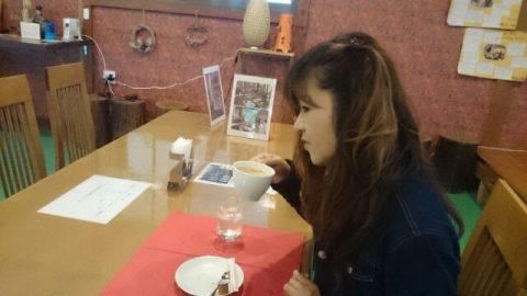 赤レンガハウスでのひと時のコーヒー