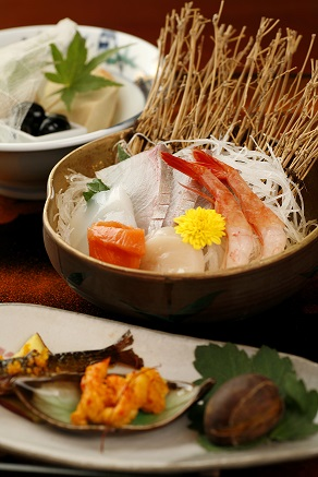 和食で提供いたしています