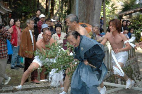 今出熊野神社 「はだか祭り」 はだか祭り保存会