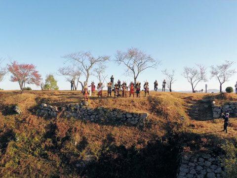 黒井城まつり