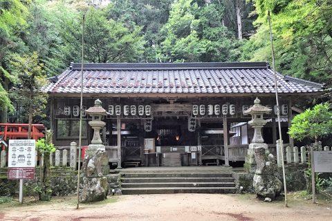 狭宮神社より工事延長のお知らせとお願い